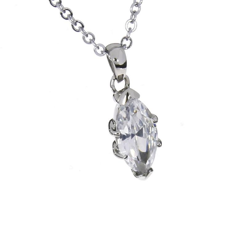 Damen Halskette - Damenkette mit Anhänger - Damenanhänger (HP-20401)