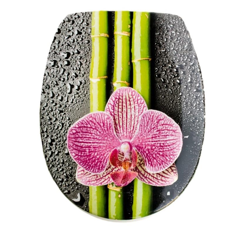 toilettensitz mit absenkautomatik ohajo orhidea c5. Black Bedroom Furniture Sets. Home Design Ideas